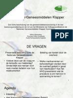 Presentatie de Nationale Geneesmiddelen Klapper 270312016 - Suriname