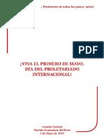 Viva El 1er de Mayo 2019