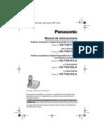 Descargaspla Pla Telefonos Inalamb 5.8 Ghz Kx-tg6111lat Documento Manual de Usuario TG6111LA 12-21-22 23 OM