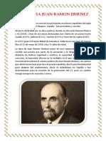 Biografia Juan Ramon Jimenez