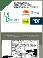 ponencia Victimas Fondos Pensiones II Encuentro Nacional Con las Pensiones No y Salario Digno