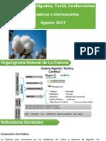 002 - Cifras Sectoriales - 2017 Agosto Algodón