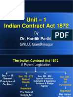 Unit 1 - Indian Contract Act 1872.pps