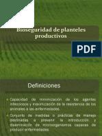 Bioseguridad de Planteles Productivos y Clinica Menor