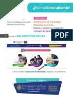 Tutorial Ingreso -Ingreso Diplomado ITEA - DAVA