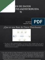 Bases de Datos Heterogeneas(Distribuidas)