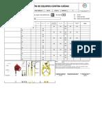 NEXCOM-JU-101946.041 - Check List de Equipo de Caídas