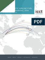 ICCT Transatlantic Airline Ranking 2014