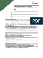 Diseño, Curriculo y Aprendizaje - Trabajo Grupal 1 U1 Integrado