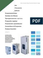 WEG CFW11 Installation Guide 10001803811 en Es Pt de Fr Ru It Tu