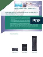 Huawei AntiDDoS8000 DDoS Protection System Datasheet