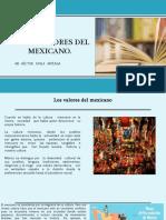 los valores del mexicano