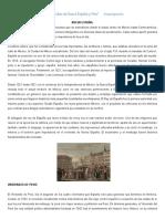 Los virreinatos de Nueva España y Perú- INVESTIGACIÓN