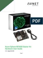 Azure Sphere Starter Kit User Guide (v1.5)