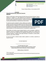 Oficio de Petición INGECA A.C.
