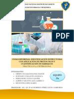 Informe 4 de Quimica Farmaceutica
