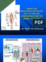T - 6 - Aspectos Biofarmaceuticos de Las Vias de Administracion de Medicamentos
