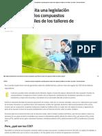 Colombia Necesita Una Legislación Específica Para Los Compuestos Orgánicos Volátiles de Los Talleres de Pintura - Revista Autocrash