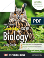IGCSE Biology Sample