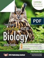 IGCSE Biology Sample