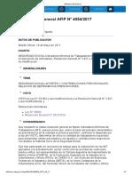Rg 4054-17 Actividad Textil Indicadores Mínimos de Trabajadores IMT