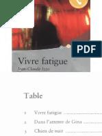 Izzo Jean Claude Vivre Fatigue