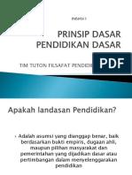 Presentasi Inisiasi 1 Filsafat Pendidikan Dasar - Inisiasi1_MPDR5105(1).pptx