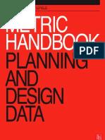 Metric Handbook 1