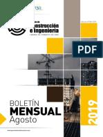 Boletin Mensual Agosto 2019