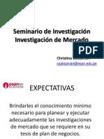 Investigacion de Mercados - Plan de Tesis