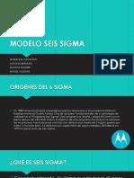 Modelo Seis Sigma Convertido