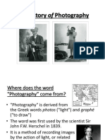 history of photo worksheet ppt