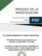 Proceso de La Investigacion