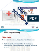 22. NEW Msrs Pres-osh Program (Cst)