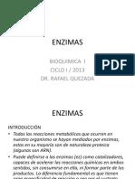 Enzimas -Bioquímica I