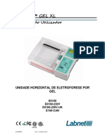 Manual de Instruções - Eletroforese