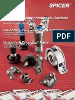 CATALOGO SPICER Catalogos de Cruzetas e Componentes de Cardans 2006