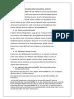 Clases de Regimenes de Humedad Del Suelo Edafologa