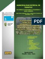001 Plan de Mantenimiento (Paucarbamba)