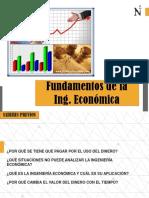 1 Fundamentos de Ingeniería Económica