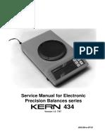 Kern 434 Precision Balance - Service manual.pdf