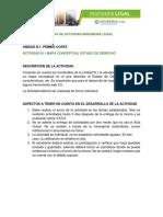 Actividad N.1 Mapa Conceptual Ingeniería Legal