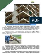 Propiedades Del Concreto y Sus Componentes