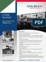 Toolmex Máquinas TUR630-710MANUAL