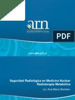 Seguridad Radiologica en Medicina Nuclear Radioterapia Metabolica