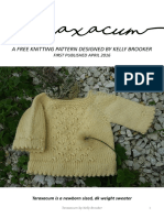 How to knit a baby sweater