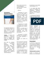 11. Instrumentos Financieros Basicos