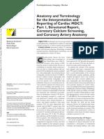 AJR Anatomy Report CTA