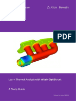 Learn Thermal Analysis With Altair OptiStruct eBook