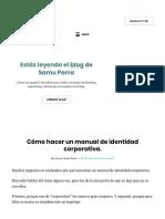 Cómo Hacer Un Manual de Identidad Corporativa (Incluye Ejemplos)